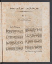 Wiener Theaterzeitung (Bäuerles Theaterzeitung)