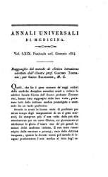 Annali di medicina straniera