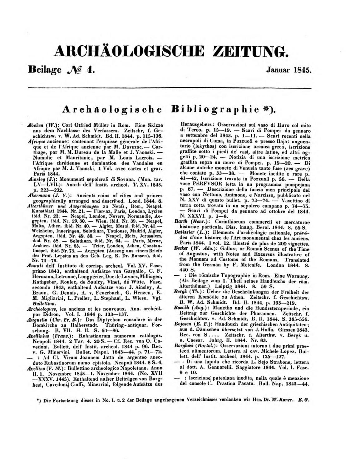 Archäologische Zeitung