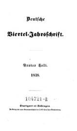 Deutsche Viertel-Jahrsschrift