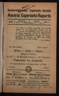 Aŭstria Esperanto-raporto