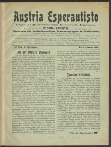 German-Aŭstria esperantisto