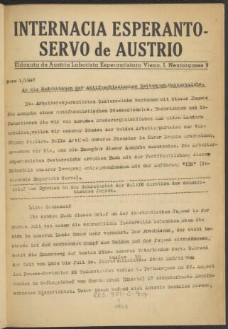 Internacia Esperanto-servo de Austrio