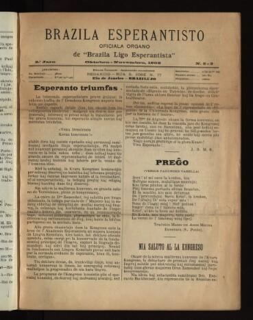Brazila Revuo Esperantista
