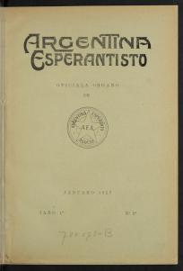 Argentina Esperantisto