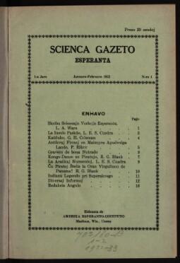 Scienca Gazeto