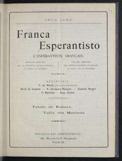 Franca Esperantisto