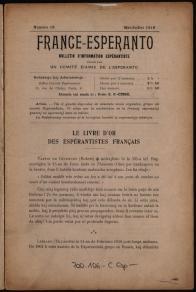 France-Esperanto