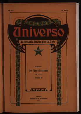 Universo: Internacia revuo por la belo