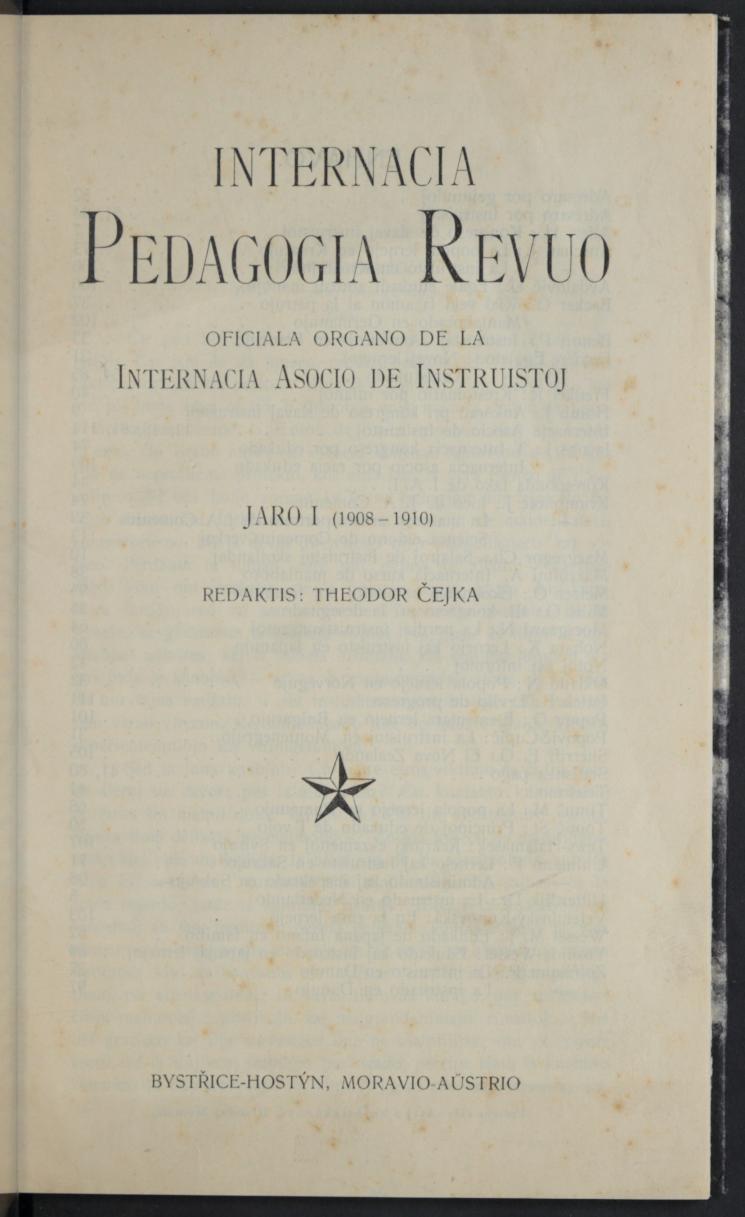 Internacia Pedagogia Revuo