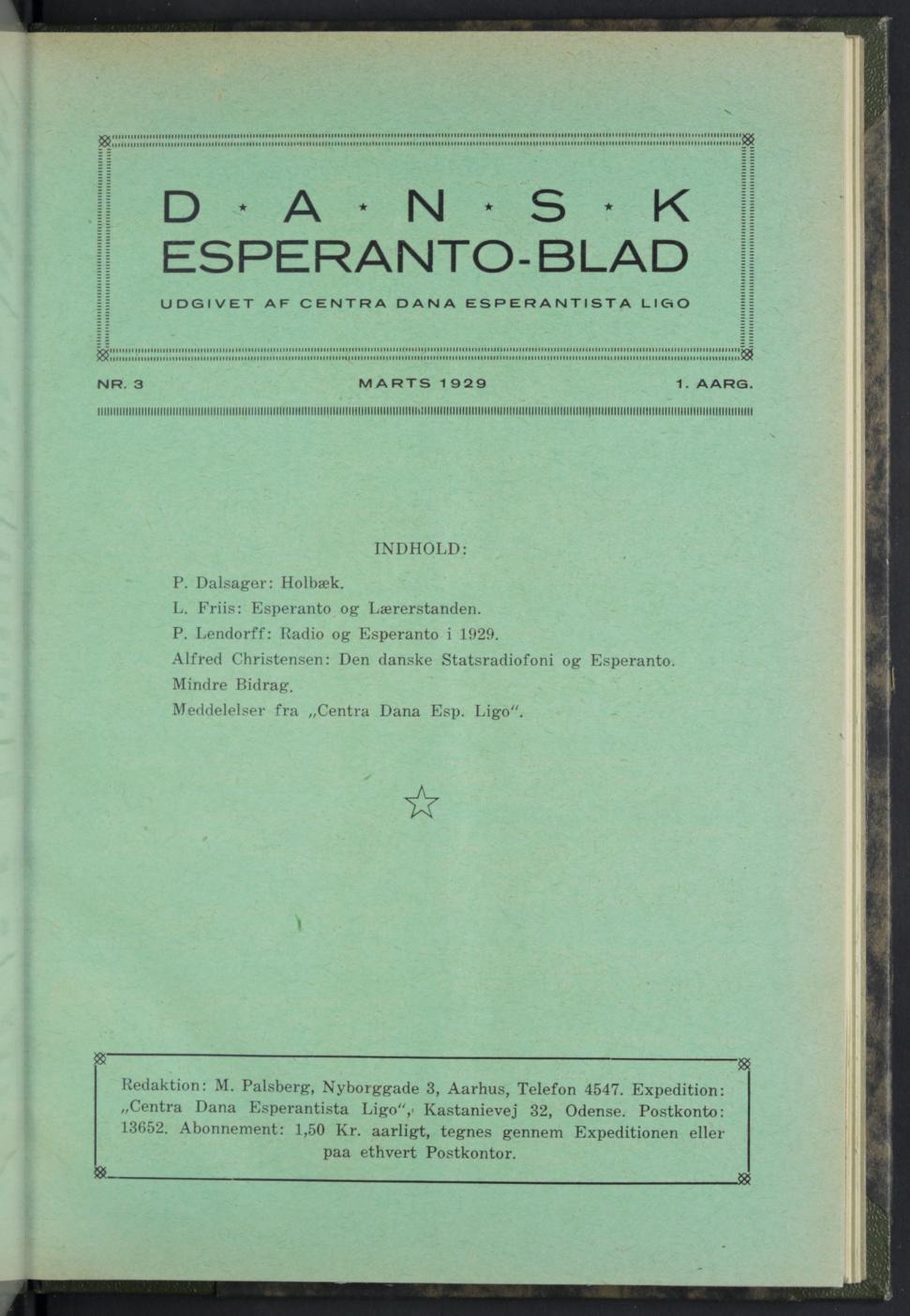 Dansk Esperanto-blad