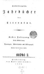 Heidelbergische Jahrbücher der Literatur