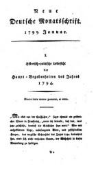 Neue Deutsche Monatsschrift