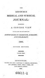 The Edinburg medical and surgical Journal