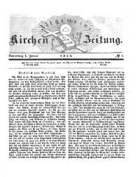 Allgemeine Kirchen-Zeitung