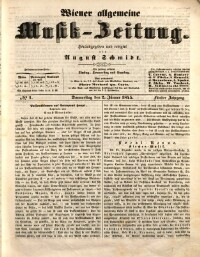 Wiener allgemeine Musik-Zeitung