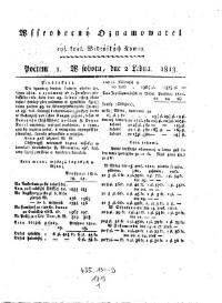 Cysarske kralowske Wydenske Nowiny (Kaiserlich königliche Wiener Zeitung)