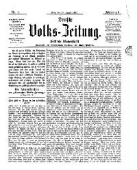 Deutsche Volks-Zeitung <Prag>