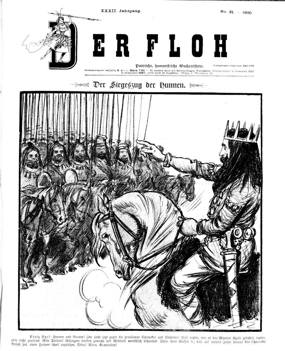Der Floh Nr. 31 (1900) S. 1