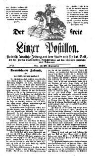 Der freie Linzer Postillon.