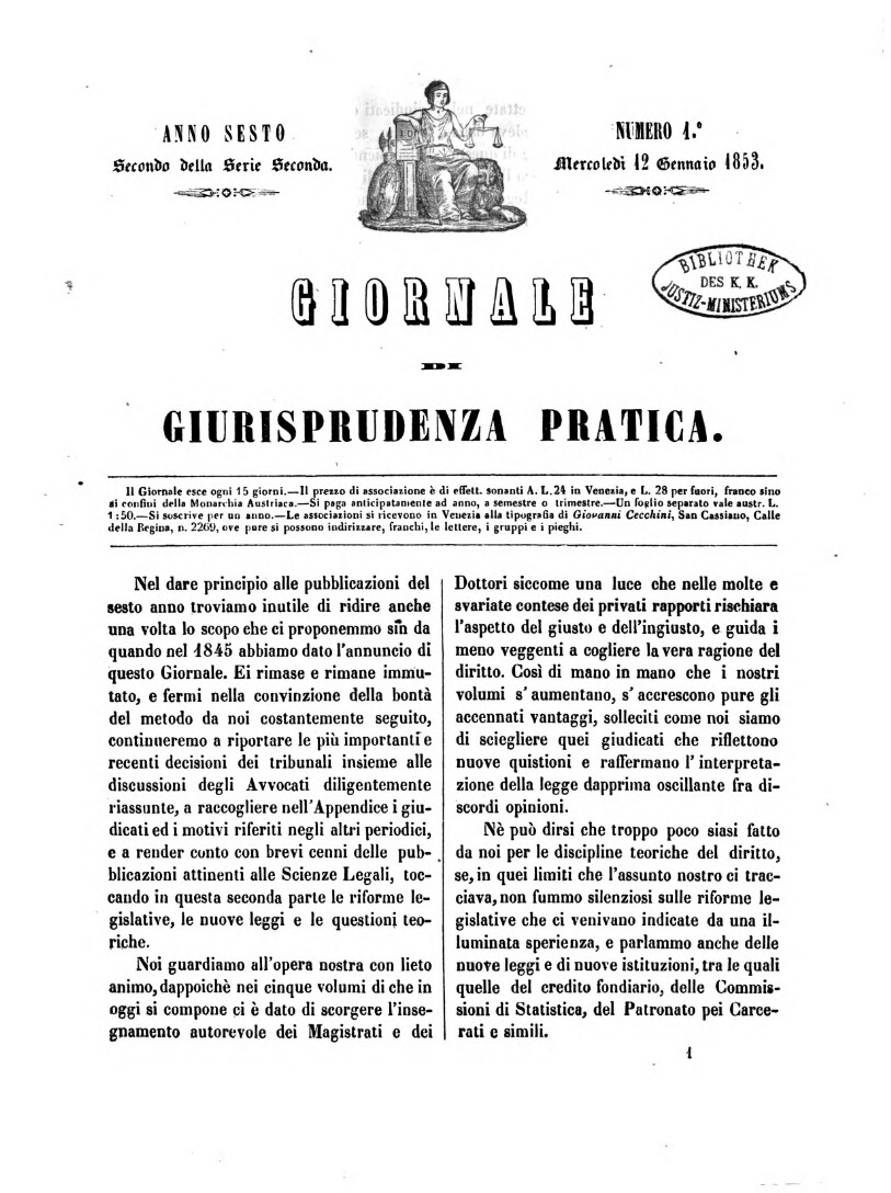 Giornale di giurisprudenza pratica