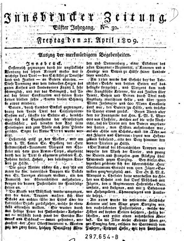 Innsbrucker Zeitung
