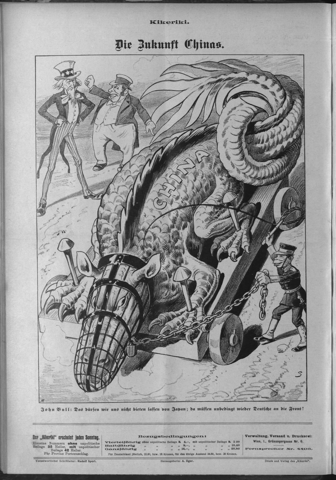 Kikeriki (7.3.1915)