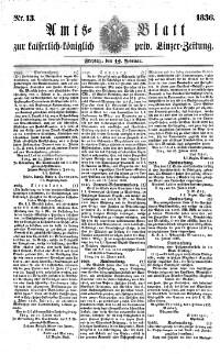 Linzer amtliche Zeitung