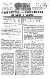 Gazetta della provincia di Lodi e Crema