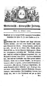 Medicinisch chirurgische Zeitung