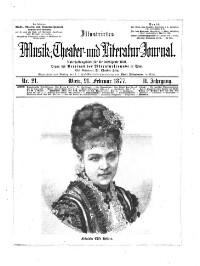 Illustrirtes Musik- und Theater-Journal
