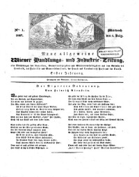 Neue allgemeine Wiener Handlungs- und Industrie-Zeitung