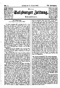 Neue Salzburger Zeitung