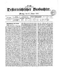 Oesterreichischer Beobachter (Wien)