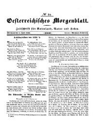 Österreichisches Morgenblatt