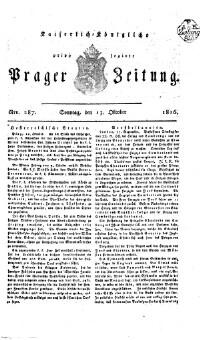 K.k. priv. Prager Zeitung