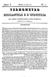 Termometro mercantile e d'industria