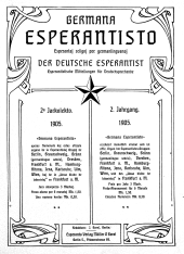 Germana Esperantisto / Der Deutsche Esperantist