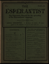 The Esperantist