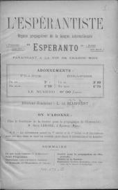 L'Espérantiste