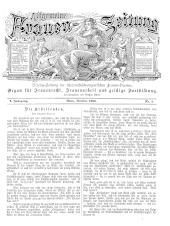 Allgemeine Frauen-Zeitung. Vereins-Zeitung der österreichisch-ungarischen Frauen-Vereine