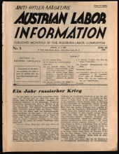 Austrian Labor Information
