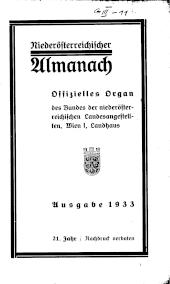 Niederösterreichischer Almanach