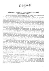 Tätigkeitsbericht des Allgem. Österr. Frauenvereines