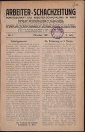 Arbeiter-Schachzeitung