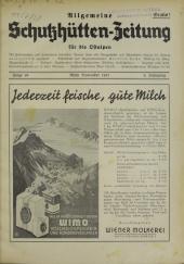 Allgemeine Schutzhütten-Zeitung