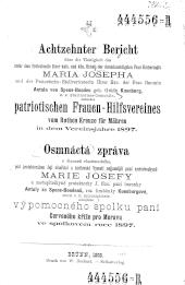 Bericht über die Thätigkeit des (…) patriotischen Frauen-Hilfsvereines vom Rothen Kreuze in Mähren