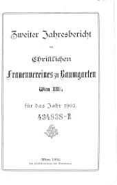 Jahresbericht des christlichen Frauenvereines zu Baumgarten