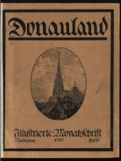 Donauland. Illustrierte Monatsschrift