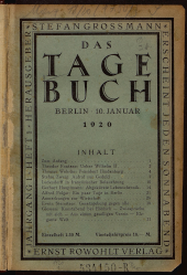 Das Tagebuch / Das Tage-Buch